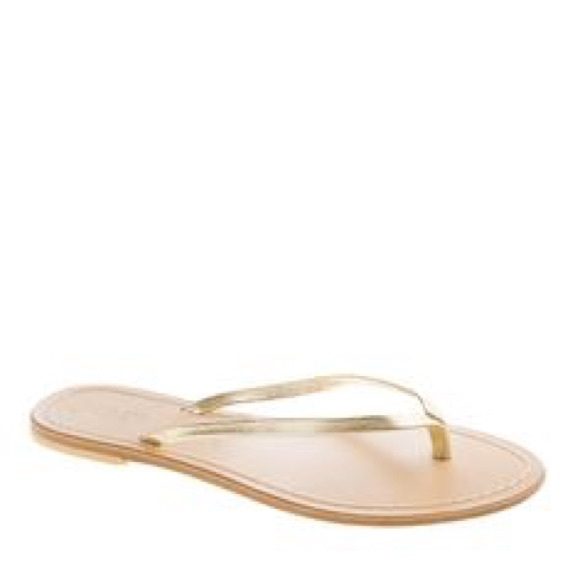 26340a2f4153 J. Crew Shoes - J.Crew Leather Capri Sandals in Gold